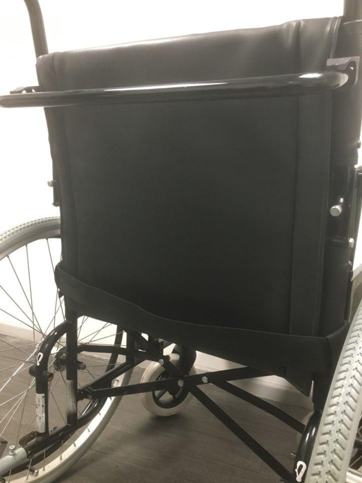 Completed tension adjustable backrest canvas